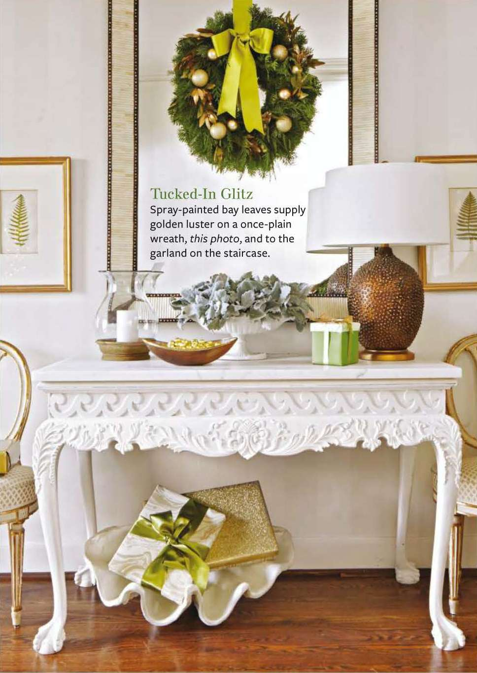 "Festive Flourishes in Better Homes and Gardens ""Christmas Ideas ..."